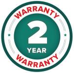2 Year Warranty Badge for Berthoud Vermorel 3000