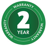 2 Year Warranty Badge for Matabi Evolution 15 LTC - 15 Litre