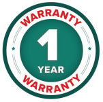 1 Year Warranty Badge for Supaturf TXE 606 Spray Line Marker
