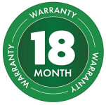 18 Month Warranty Badge for ICL AccuPro 2000 Seed and Fertiliser Spreaders
