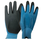 AQUATEK Latex Waterproof Gardening Gloves