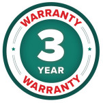 3 Year Warranty Badge for Polar Tuff Snow Plough