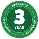 3 Year Warranty Badge for Matabi Kima 9 - Handheld Compression
