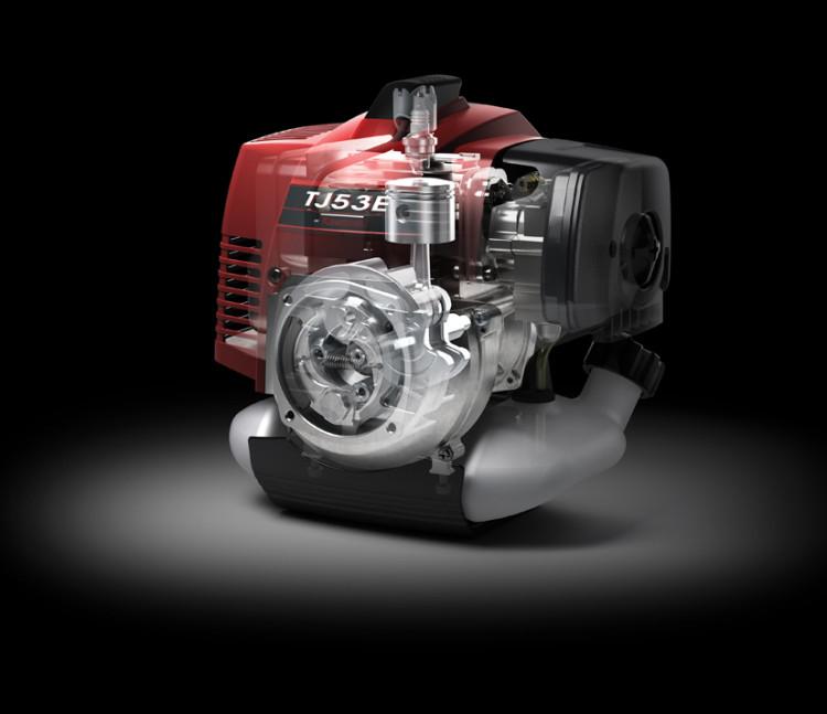 Kawasaki launches new TJ53E 2-stroke horizontal shaft Engine