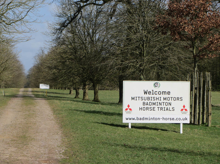 Trade Stands Badminton Horse Trials : Badminton horse trials the main eventing pitchcare articles