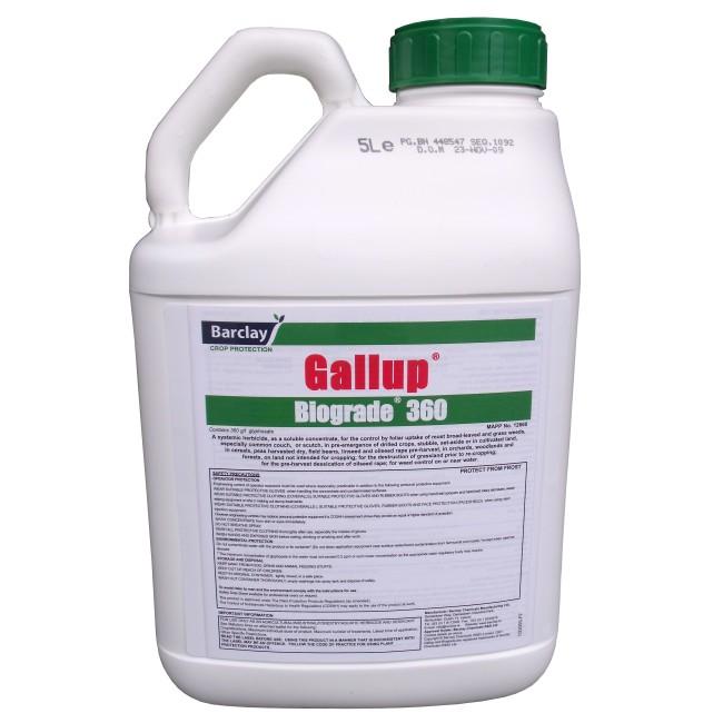 Gallup Biograde Glyphosate 5L