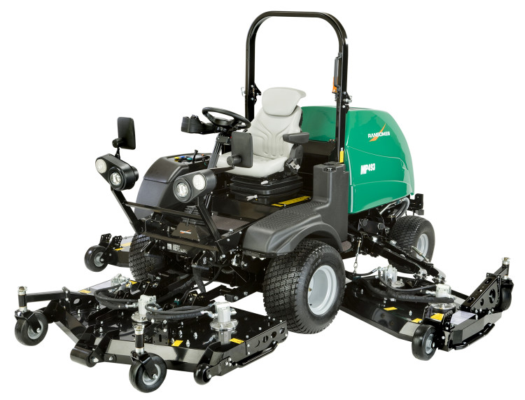 New Medium Platform (MP) mower series launched by Ransomes Jacobsen
