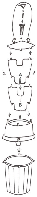 Chafer Trap Instruction Drawing