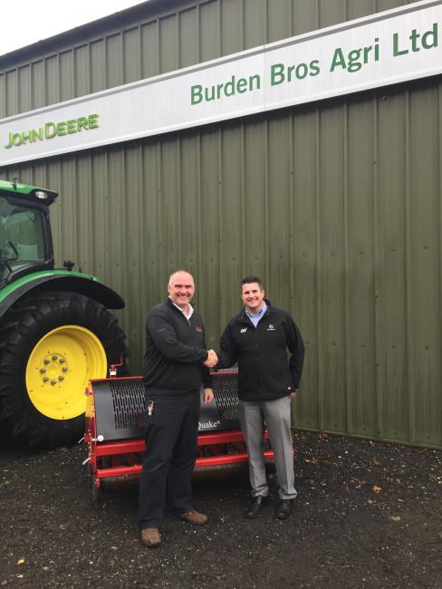 Burden Bros Agri Ltd take on complete Charterhouse range for