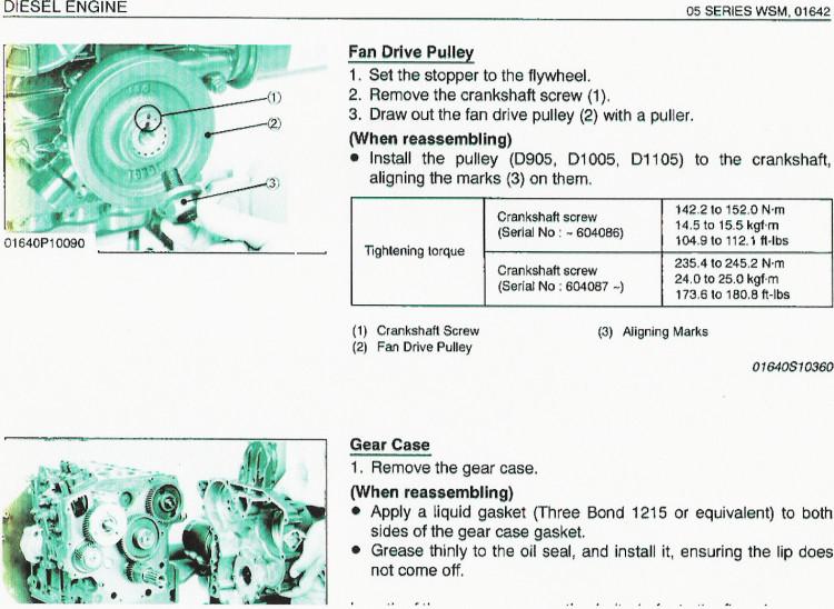 Kubota Engine Vibration Pitchcare Forum