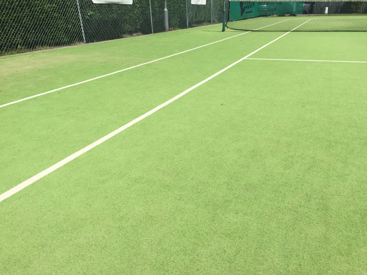 Synthetic Tennis Courts Dealing With Migration Pitchcare Ireland