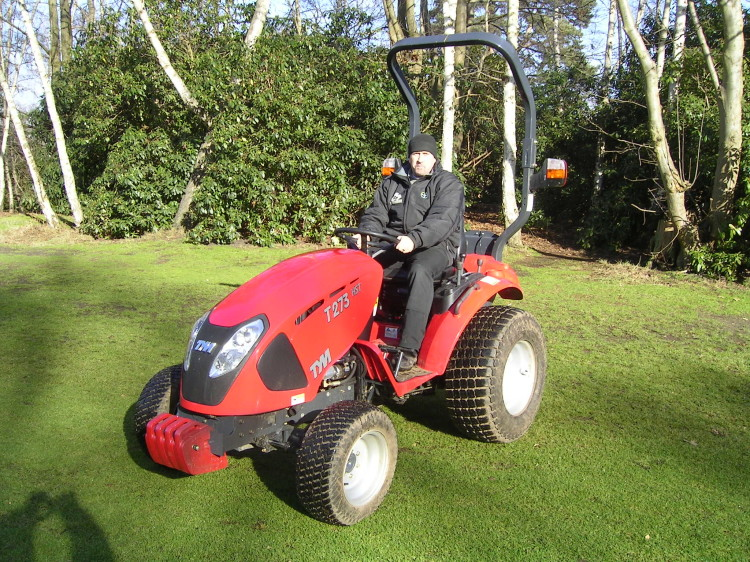 Quality TYM tractors win golf club loyalty | Pitchcare Articles