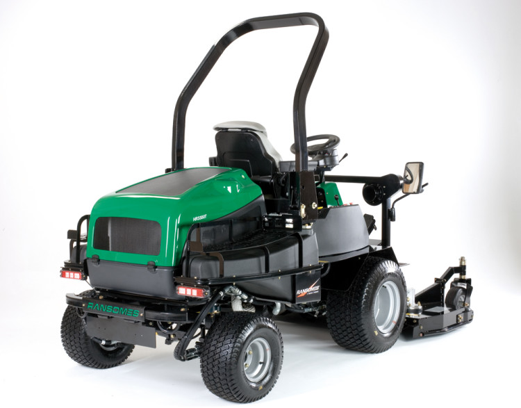 Ransom Mower Seats : Ransomes hr t out in front rotary mower pitchcare
