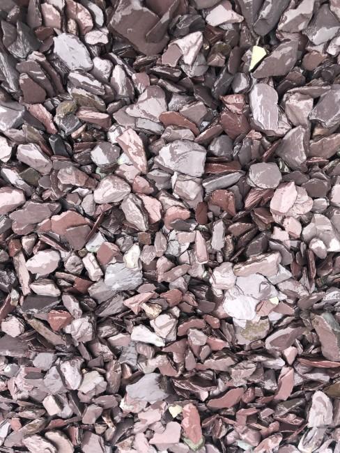 Plum Landscaping Slate - Wet