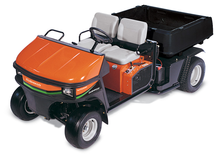New More Powerful Diesel Engine For Cushman Turf Truckster