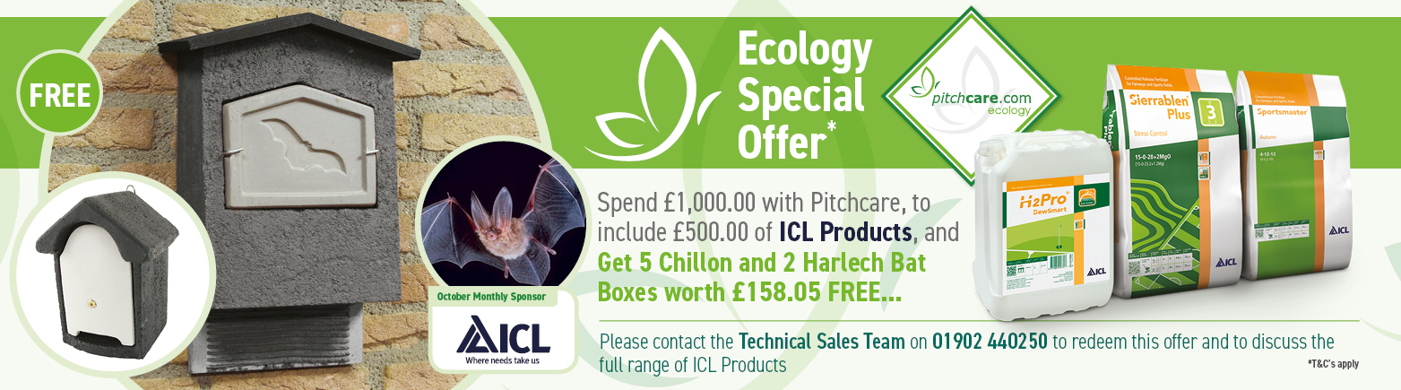 Pitchcare Ecology Offer October - Sponsored by ICL