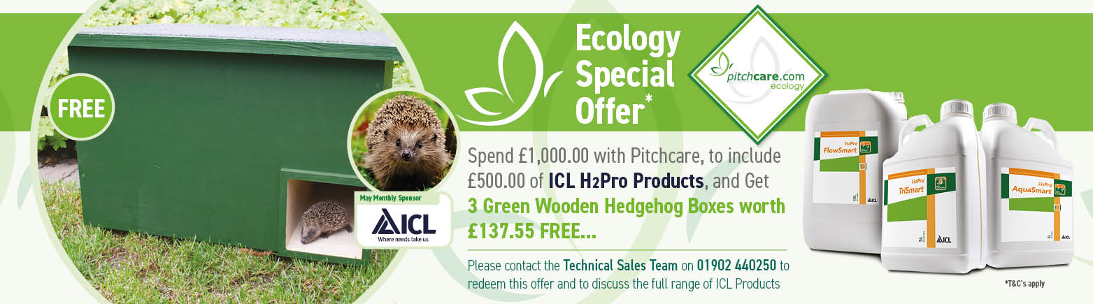 Pithcare Ecology Special Offer for May - Sponsored by ICL H2Pro Products