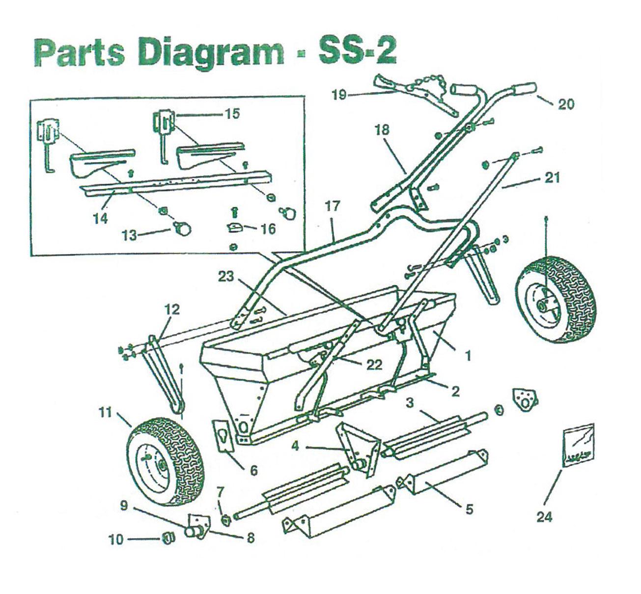 Scotts Drop Spreader Parts Diagram