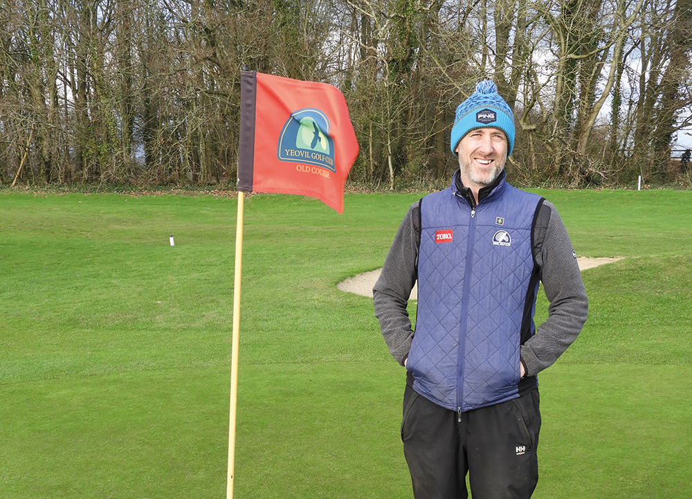 Proper job at Yeovil Golf Club Background