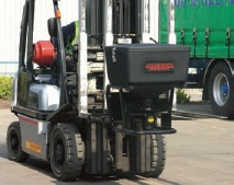 Magnum Forklift Attachment in use