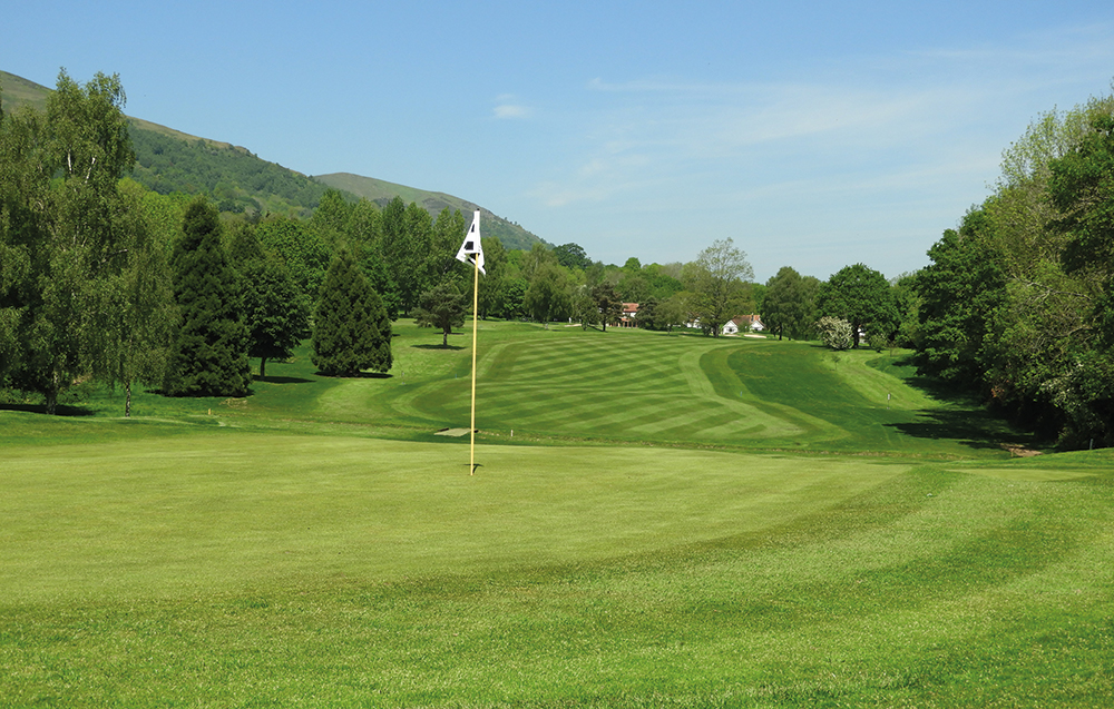 The hills are alive at The Worcestershire Golf Club Background
