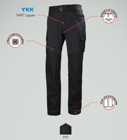 Helly Hansen Chelsea Evolution Trousers - available from Pitchcare.com