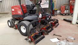 The Toro 5610 Fairway Mower