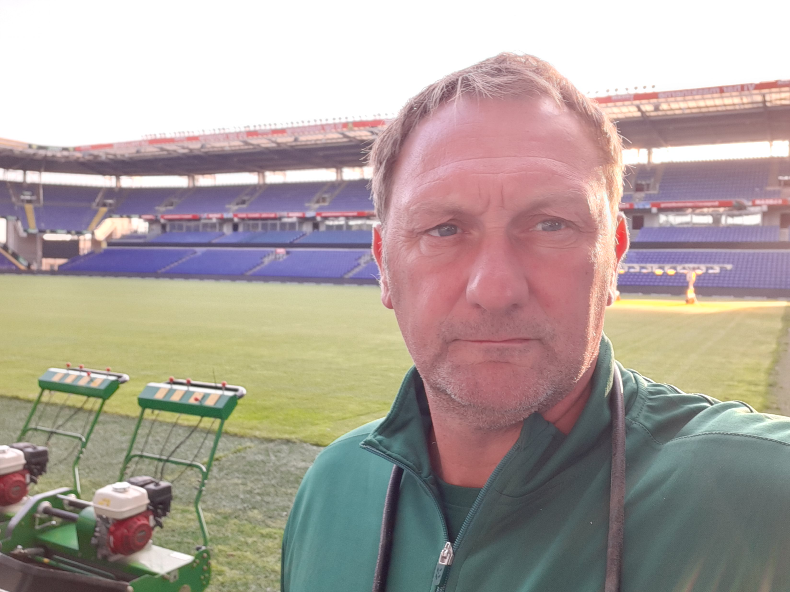 Chris Hague - a British groundsman abroad Background