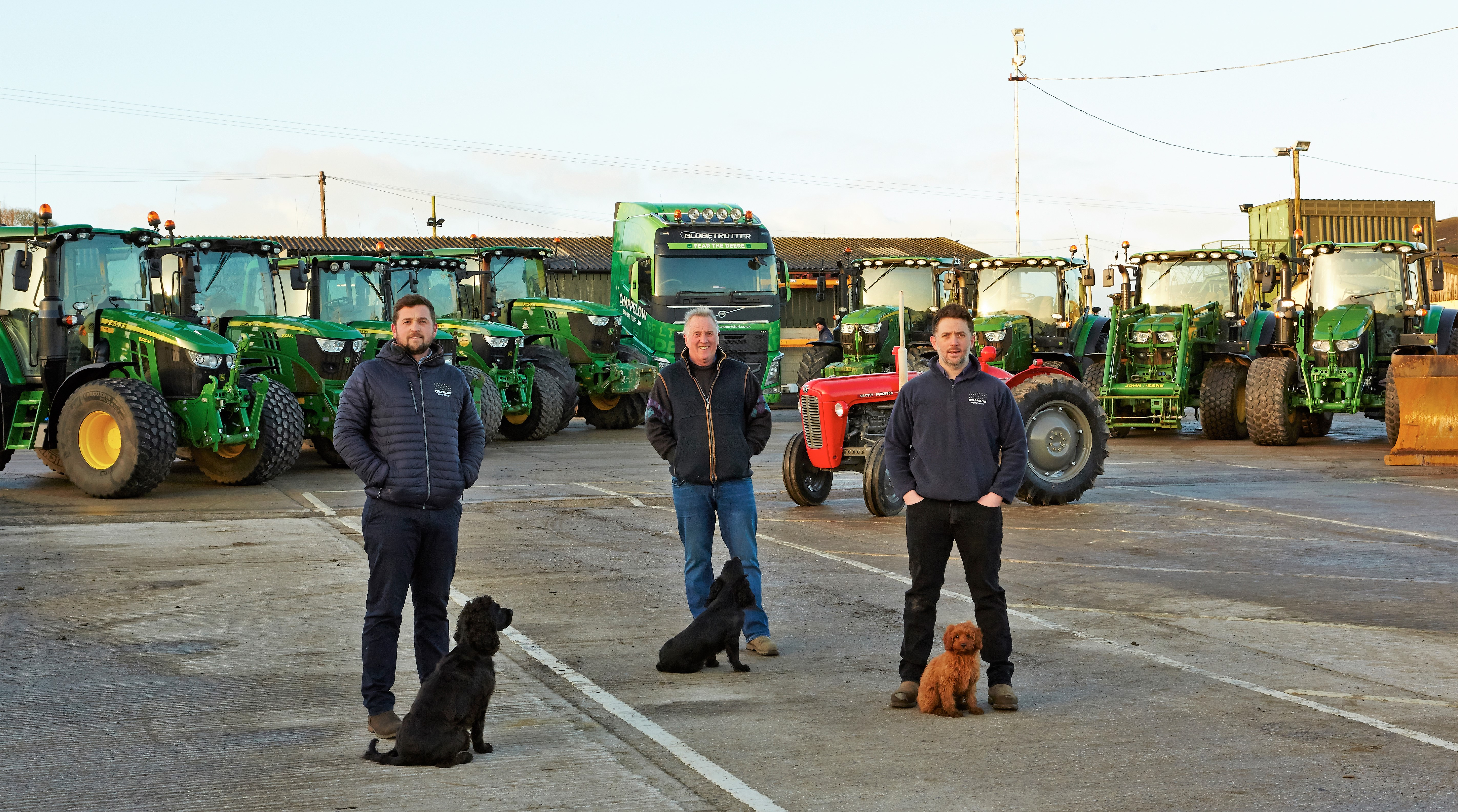 Chappelow Sports Turf - From Pigs to Pitches Background