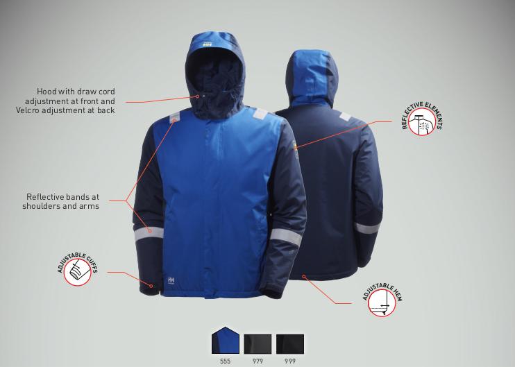 Helly Hansen Aker Winter Jacket Features