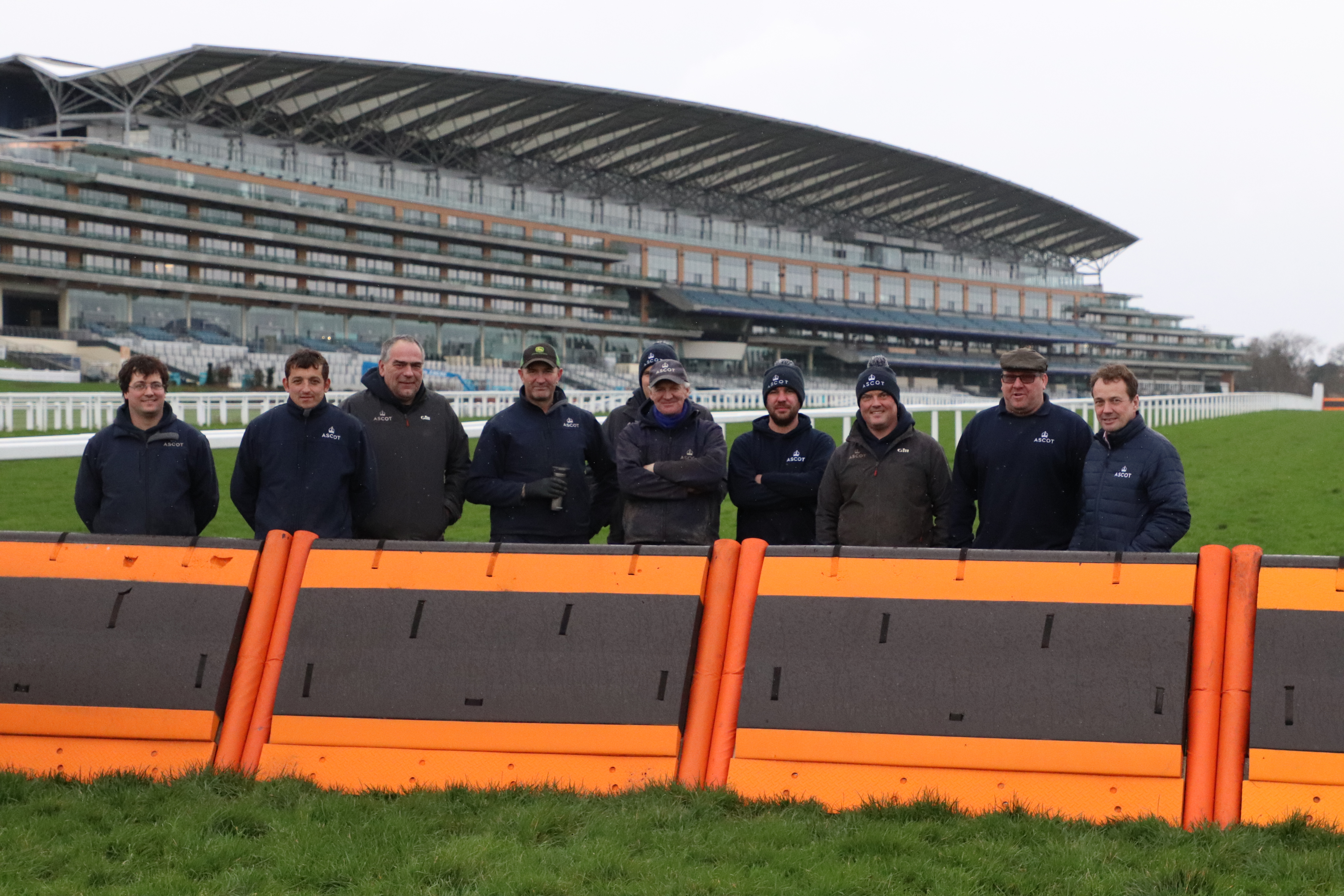 Ascot Racecourse - All in the planning Background