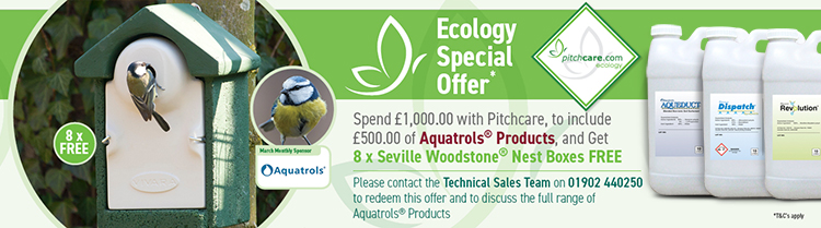 Pitchcare's Monthly Ecology Promotion - March Sponsored by Aquatrols