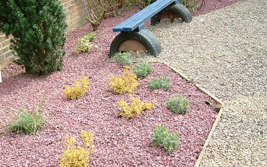 Rubber Mulch Uses