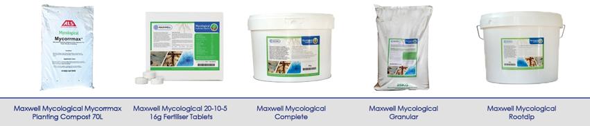 New Maxwell Mycological Range - Mycorrhizal Fungi Powered!
