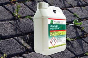 New Way Weed Spray Weed, Grass, and Hard Surface Moss Killer