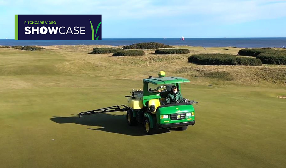 VIDEO SHOWCASE - Spraying with precision Background