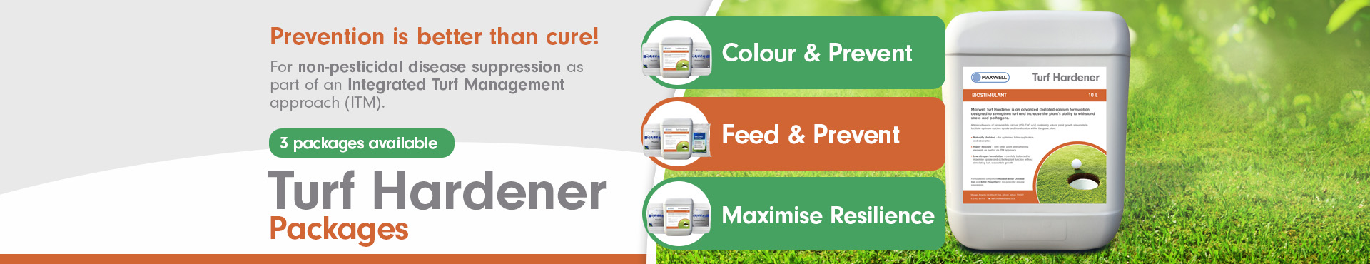 Turf Hardener Packages PC Shop Banner