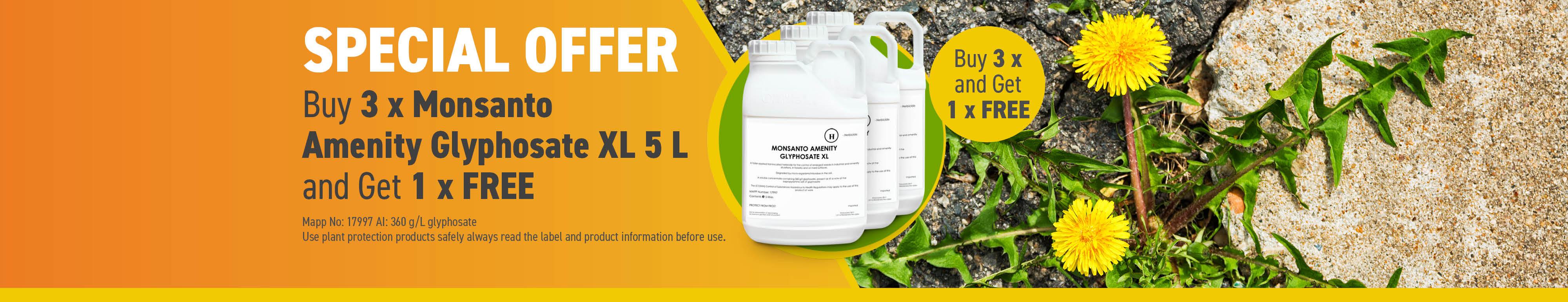 Monsanto Buy 3 Get 1 Free Slider Banner