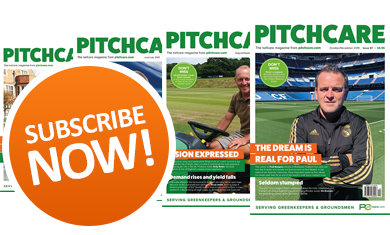 Subscribe to the Pitchcare Magazine