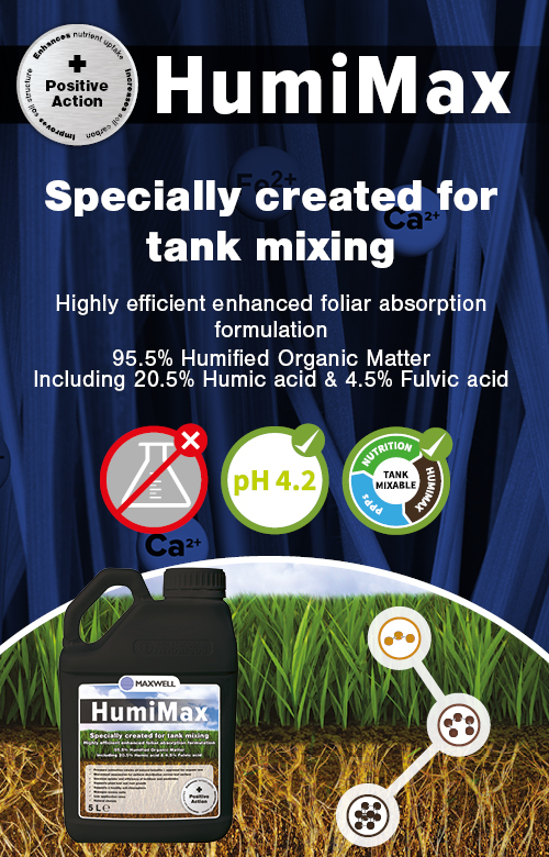 HumiMax specially created for tank mixing