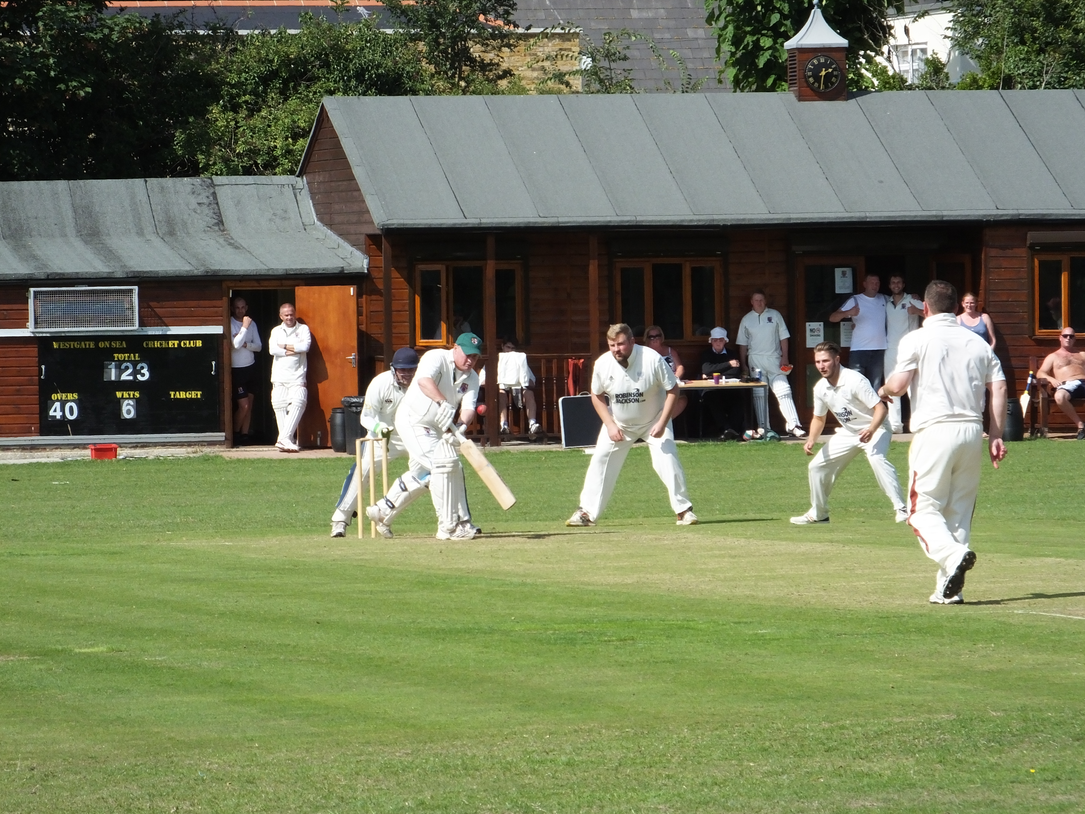 Westgate-on-Sea Cricket Club - The umpire strikes back! Background