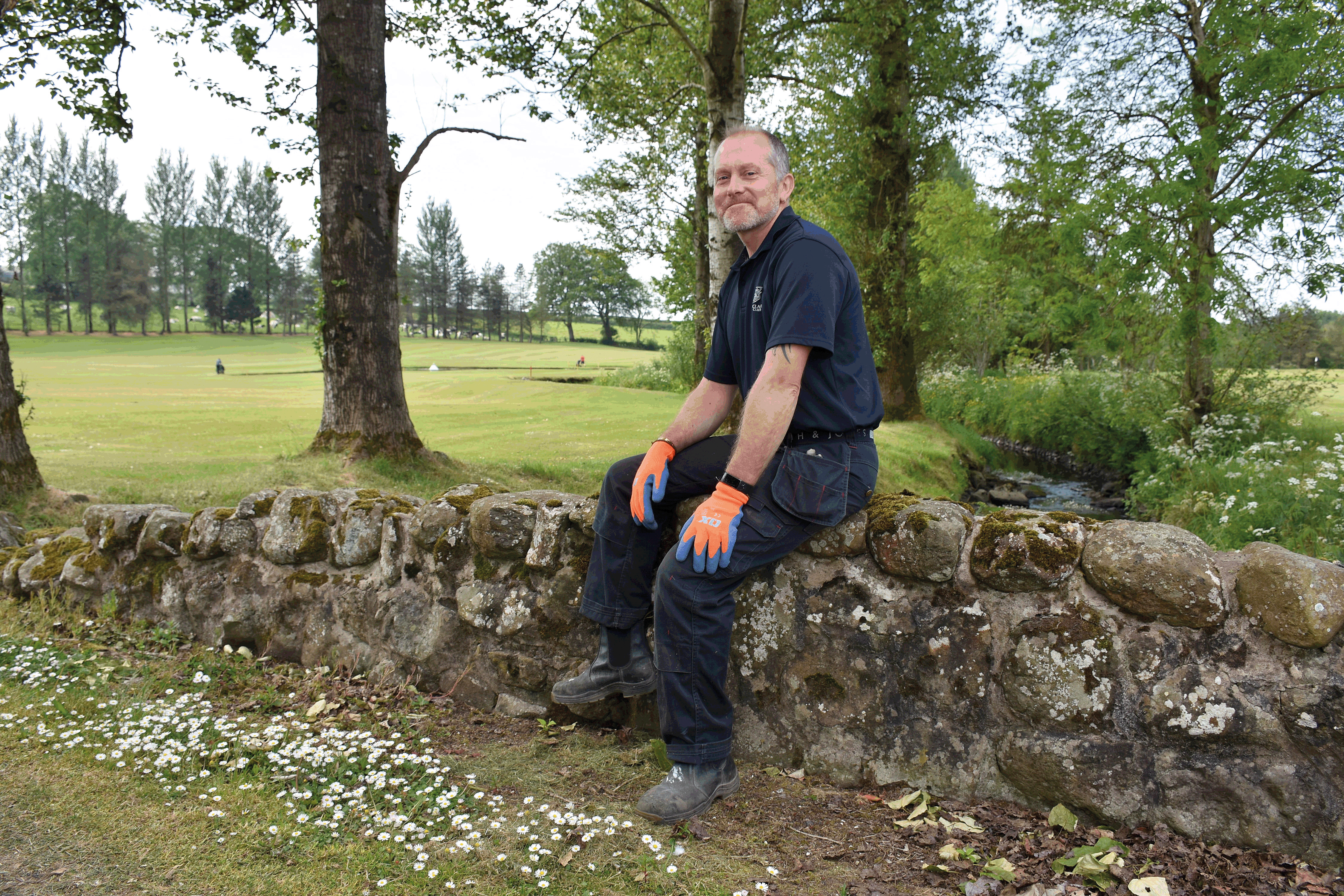 Ballyclare Golf Club - Lockdown over ... Background