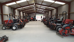 The machine shed at the Carton House Estate