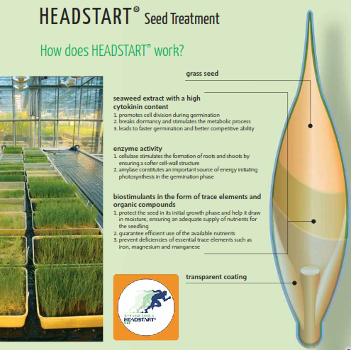 How HEADSTART Seed Treatment Works