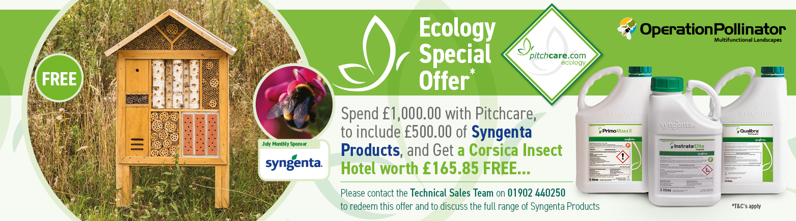 Pithcare Ecology Special Offer for July - Sponsored by Syngenta