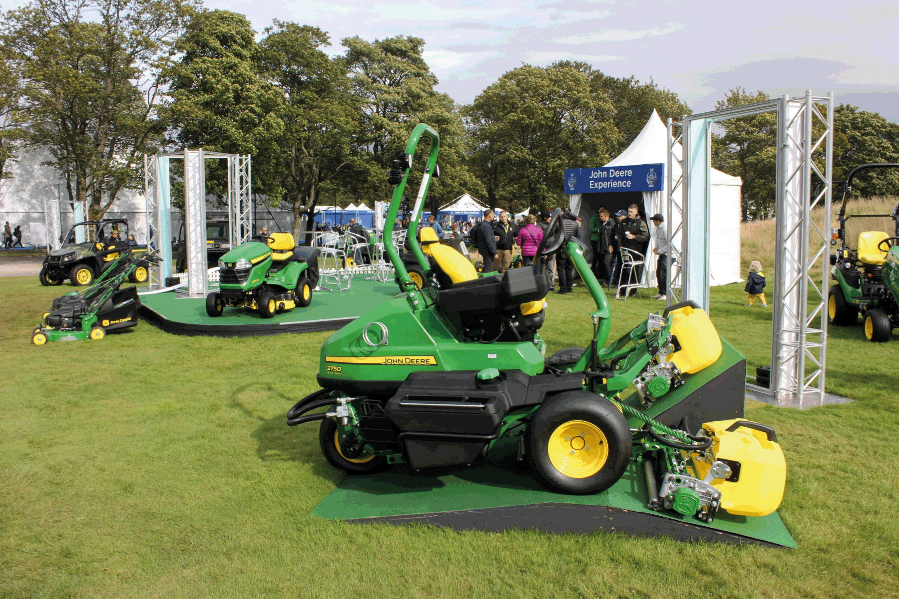 Decisions decisions - a turfgrass manager's role is to propose one or more capital expenditure projects Background