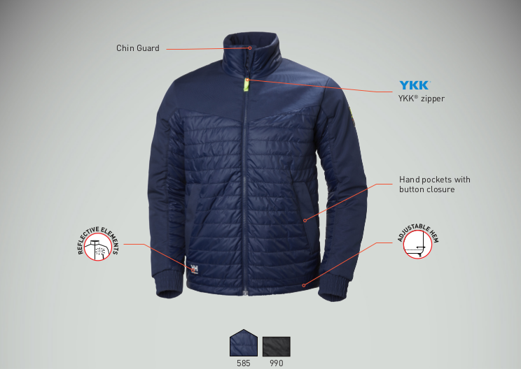 Helly Hansen Aker Insulated Jacket Features