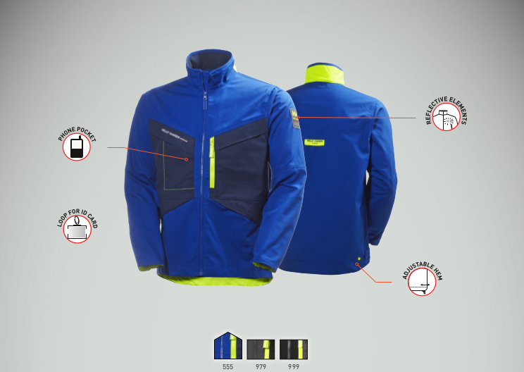Helly Hansen Aker Jacket Features