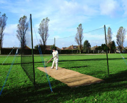 Wooden Pole Practice Bay