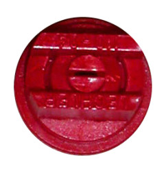 Flat Flan Nozzle ISO Red 04F110